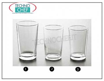 Glasses for water and wine GLASS, ARCOROC, Conique Temperato Collection