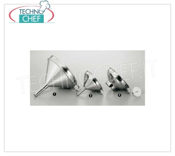 funnels FUNNEL IN STAINLESS STEEL, CM.12