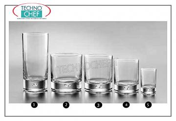 Glasses for water and wine LIQUOR GLASS, PASABAHCE, Centra Collection