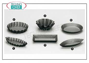 Baking metal moulds
