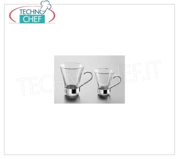 Coffee cups - cappuccino in glass TEMPERED COFFEE CUP, BORMIOLI ROCCO, Ypsilon Collection