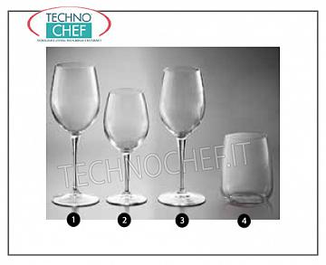 Glasses for the Table - complete coordinated series SPARKLING WATER GLASS, BORMIOLI ROCCO, Premium Collection Cristallino Tasting