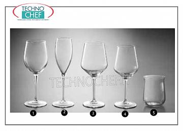 Glasses for the Table - complete coordinated series NATURAL WATER GLASS, BORMIOLI ROCCO, Premium Crystal Tasting Collection