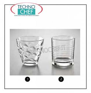 Glasses for Water and Wine TRANSPARENT WATER CHEESE, ROCCO BORMIOLI, Flora Collection
