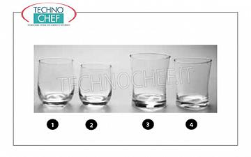 Glasses for Bar - Disco WATER GLASS, BORMIOLI ROCCO, Lotus Line