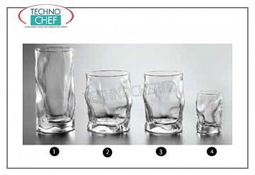 Glasses for water and wine LIQUOR GLASS, BORMIOLI ROCCO, Transparent Source Collection