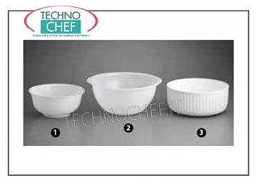 salad bowls WHITE PLASTIC SALAD BOWL