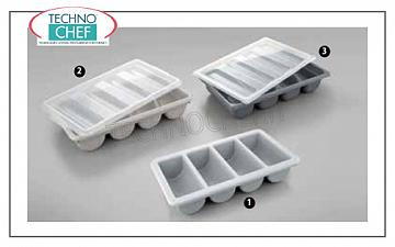 Cutlery containers Cutlery tray, HORECA, 4 seats, cm.53,5x34