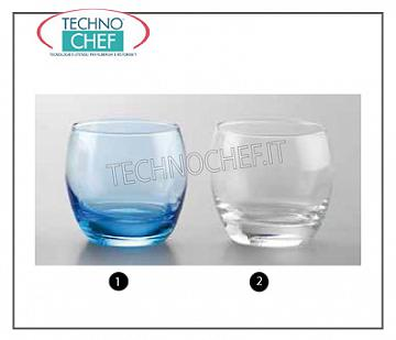 Glasses for water and wine TRANSPARENT GLASS, ARCOROC, Salto Collection