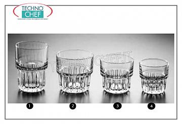 Glasses for water and wine GLASS, LIBBEY, Everest Collection