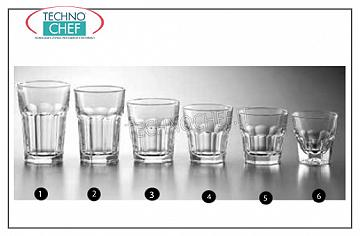 Glasses for water and wine GLASS, LIBBEY, Gibraltar Collection