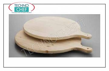 Wooden chopping boards Pizza board in beech wood with handle, Diameter cm.40