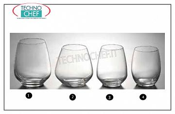 Bar glasses - Disco PRIMARY GLASS, Cristallino Collection