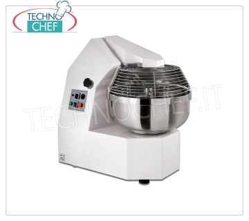 FORK MIXER with TANK of lt. 70 for 60 Kg of dough, 2 Speeds, THREE-PHASE, V.400 / 3 Fork mixer with 70 liter bowl, dough capacity 60 Kg, 2 speeds, V 400/3, kW 0.9-1.3, dim. mm 1068x660x1025h