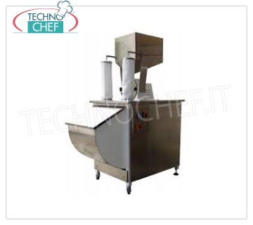 Grind sugar Stainless steel 100 / ORA sugar grinder, complete with product collection, 1 speed motor, V 380/3, Kw 1.5, Weight 130 Kg, dim. mm. 1150x620x1150 h
