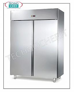 2-door Fridge Cabinet, liters 1.325, operating temperature -2 ° / + 8 ° C 2-door Fridge Cabinet, 1.325 liters, operating temperature -2 ° / + 8 ° C, ventilated, Gastro-norm 2/1, V 230/1, kw 0.70, dimensions 1480x830x2010h
