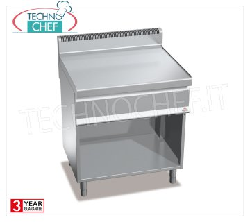 TECHNOCHEF - NEUTRAL FLOOR on COMPARTMENT ROOM, 1 module 800 mm, Mod.N7-8M NEUTRAL FLOOR on DAY COMPARTMENT, BERTOS, MACROS 700 Line, WORKING Series, 1 800 mm module, Weight 53 Kg, dim.mm.800x700x900h