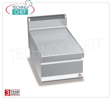 TECHNOCHEF - NEUTRAL TOP, 1 400 mm module, Mod.N7T4B NEUTRAL TOP, BERTOS, MACROS 700 Line, WORKING Series, 1 400 mm module, Weight 14 Kg, dim.mm.400x700x290h