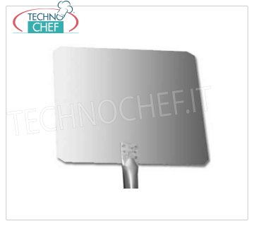 TECHNOCHEF - Rectangular Stainless Steel Pizza Shovel with 1.5mm Stainless Steel Handle RECTANGULAR pizza shovel in 18/10 stainless steel, dim.cm 30x20, stainless steel handle length 1.5m.