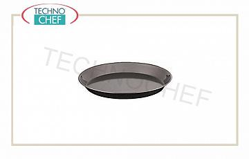 Pizza pans, pastry Round, non-stick 2-layer pizza pan with high performance, resistant to 280 ° C, diameter 20x2.5h cm, each price - Available in pack of 5 pieces