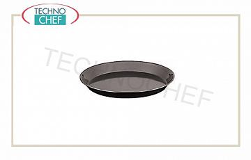 Pizza pans, pastry Round pizza tin in heavy blue plate, diameter cm 20x2,5h, each price - Purchasable in pack of 10 pieces