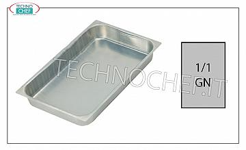 Aluminum Gastronorm trays Aluminum baking tray G / N 1/1 H Cm 2