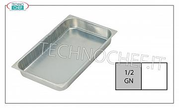 Aluminum Gastronorm trays Aluminum baking tray G / N 1/2 H Cm 2