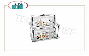 Refrigerated tray with dome Refrigerated Showcase 2 Floors