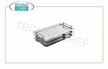 Buffet display trays Smooth Stack Tray Stackable 1/1