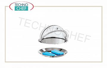 Refrigerated tray with dome c