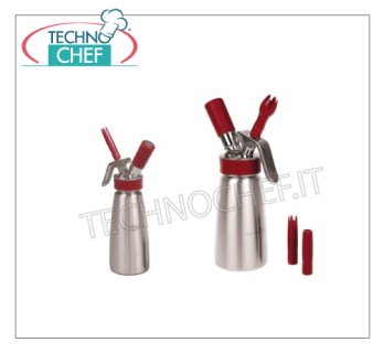 GOURMET WHIP Stainless steel whipped cream siphon Stainless Steel Professional Siphon Lt 0.25