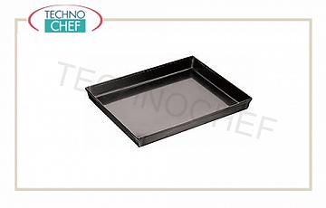 Pizza pans, pastry Pizza-Pastry tray rectangular in blue plate, dimensions cm 30x23x3h