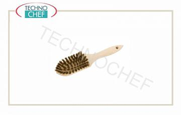 Brushes Grill brush with brass bristles, dimensions 5.5x11 cm, 27 cm long