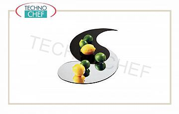 Mirror display trays for buffet Virgola Acrylic Mirror Cm 40.6