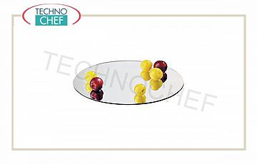 Mirror display trays for buffet Oval Acrylic Mirror Cm 45X30