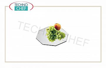 Mirror display trays for buffet Acrylic Mirror Ottagono Cm 30