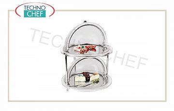 Refrigerated tray with dome Refrigerated Showcase Round 2 Floors