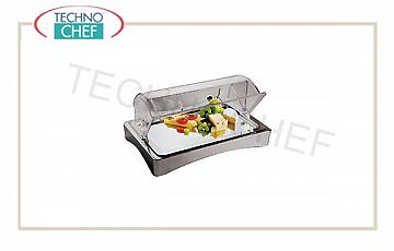 Refrigerated tray with dome Refrigerated Showcase