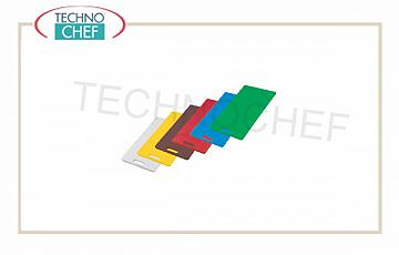 Chopping boards in polyethylene Set 6 Colored cutting boards
