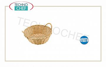 Baskets for bread Round Bread Basket With Handles Cm 23