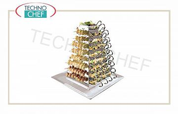 Display and pyramids for buffet Pyramid Display Cm 53