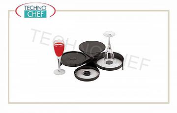 Borders for bar glasses edger