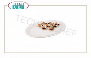 Appetizers and Aperitifs Oval Plate Cm 30.5x22.5