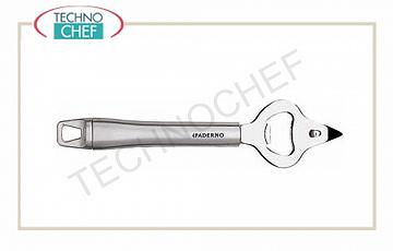 Series 48278 with stainless steel handle Bottle opener long 20.5 cm, stainless steel handle