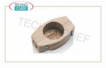 Wooden tools Round Shell Mold 125 Gr