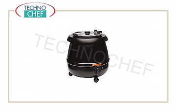 Electric bain marie for soups (buffet) Electric soup tureen