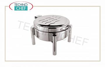 Food warmer / Chafing dish Chafing dish Round Cm 24 Alcohol Sol