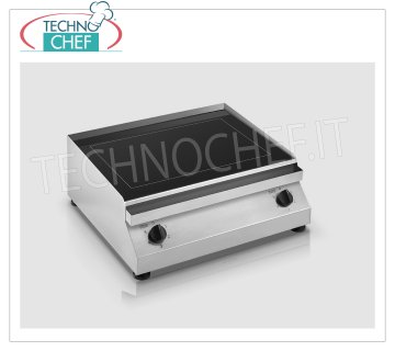 TECHNOCHEF - Electric hob / fry top with glass ceramic plate, mod.PFT.A.04 GLASS CERAMIC COOKING TOP / FRY TOP, ELECTRIC table top, 2 INDEPENDENT COOKING ZONES of 1.5 + 1.5 kw, ADJUSTABLE TEMPERATURE from 50 ° to 400 ° C, V 230/1, Kw 1.5 + 1.5 , dimensions mm 485x545x200h