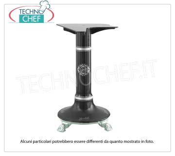 BERKEL - Black Pedestal for Flywheel Slicer B116 / B116A / B116SA Support pedestal in black painted cast iron for Flywheel Slicer Mod.B116 / B116A / B116SA, Weight 75 Kg, dim.mm.685x555x790h mm