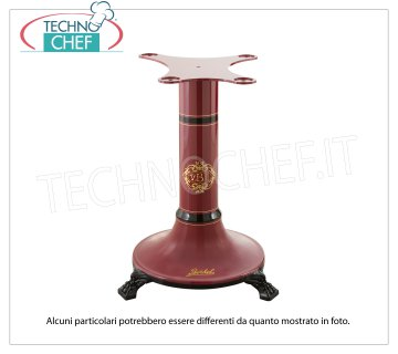 BERKEL - Red Pedestal for Slicer Flywheel B3 / TRIBUTE / B114 Red painted cast iron support pedestal for Flywheel Slicer Mod. B3 / TRIBUTE / B114, Weight 45 Kg, dim.mm.580x580x780h